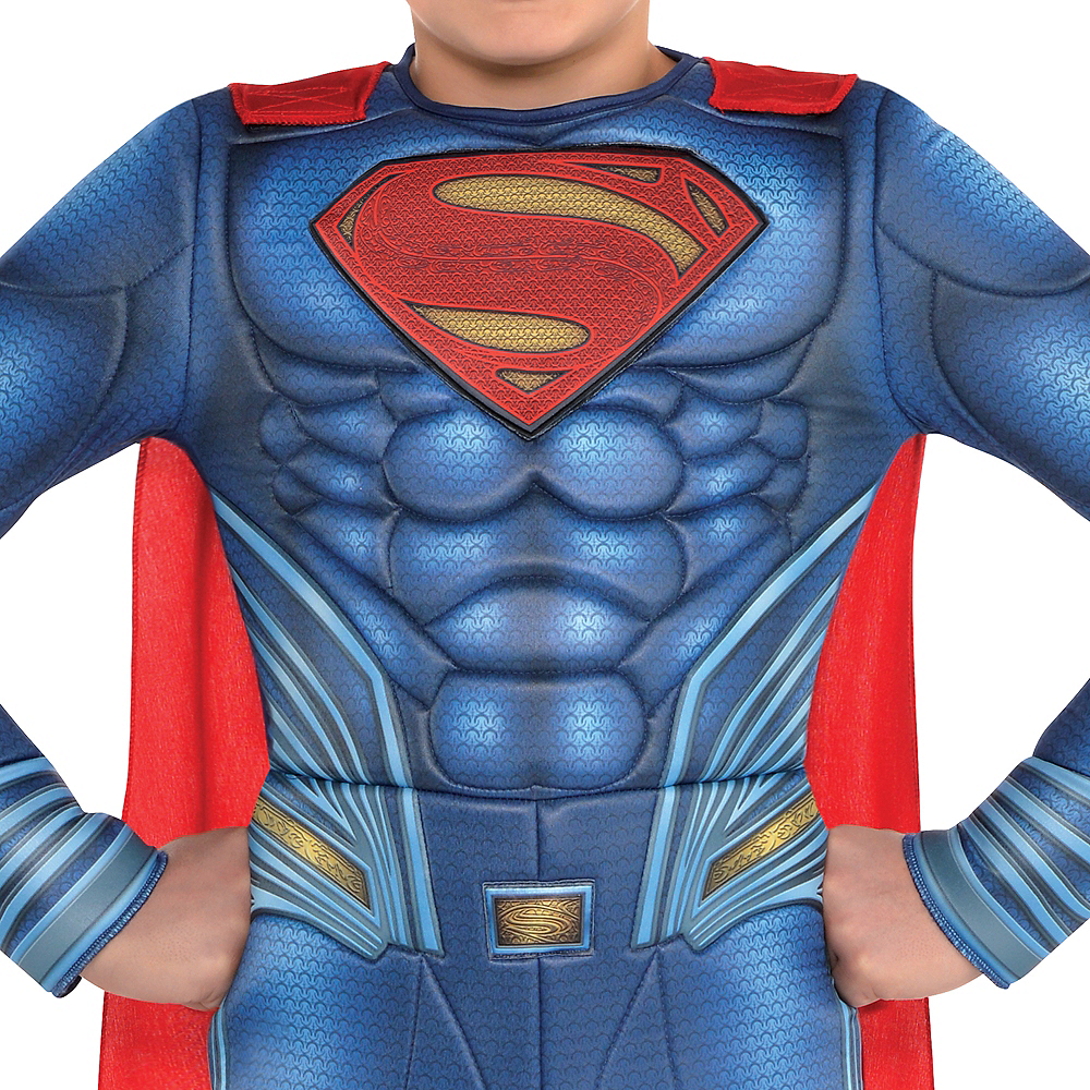 Boys Superman Muscle Costume - Justice League Part 1 Image #2