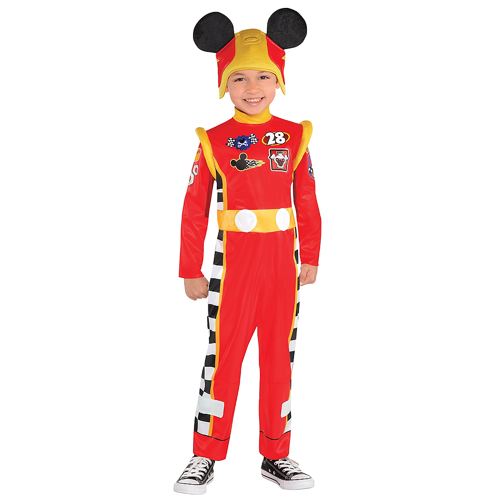 Toddler Boys Mickey Mouse Costume - Mickey & the Roadster Racers Image #1