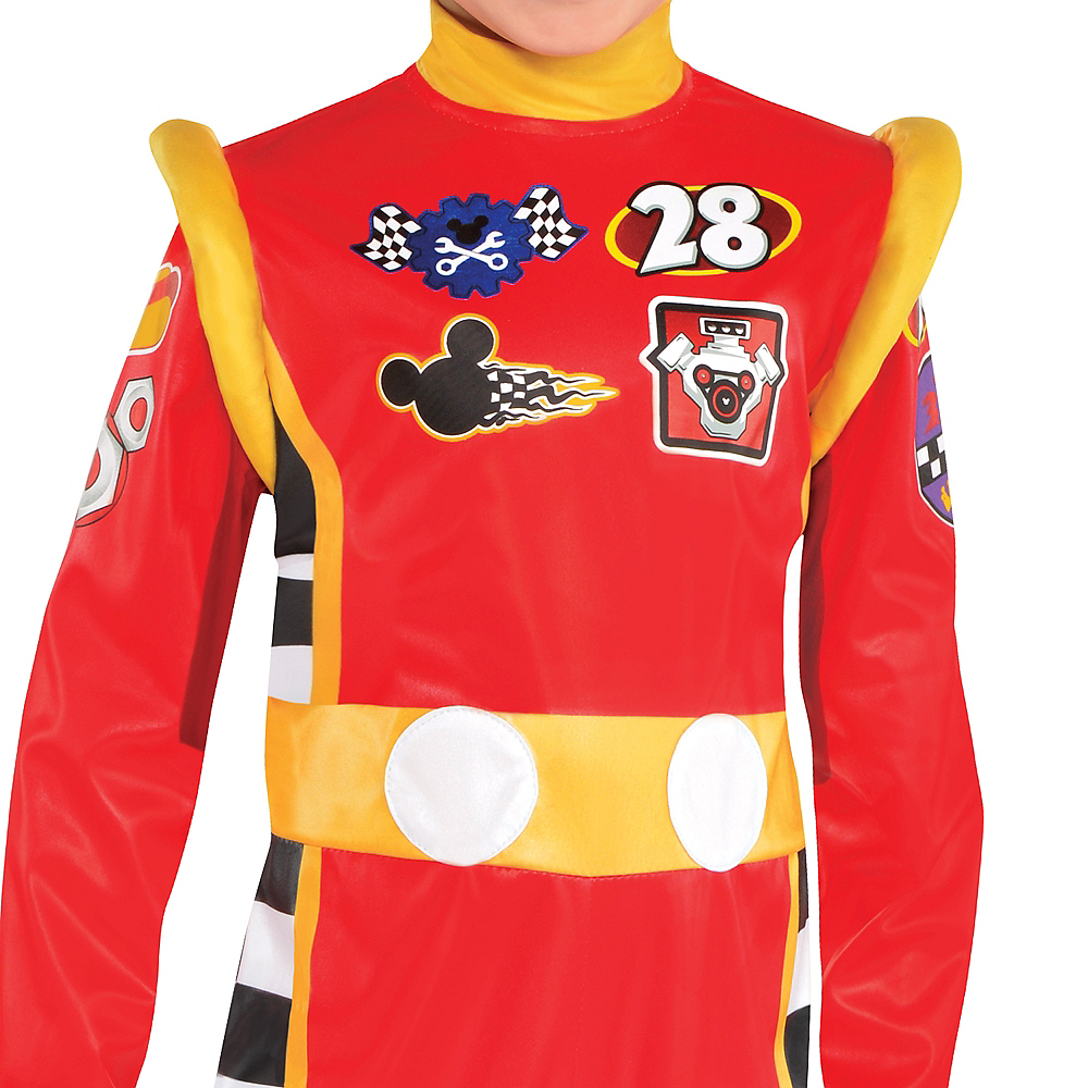 Toddler Boys Mickey Mouse Costume - Mickey & the Roadster Racers Image #3