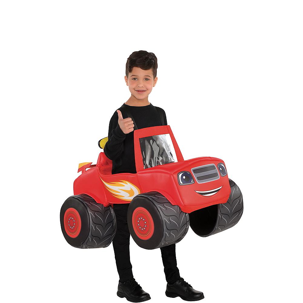 Boys Blaze Truck Ride-On Costume - Blaze and the Monster ...