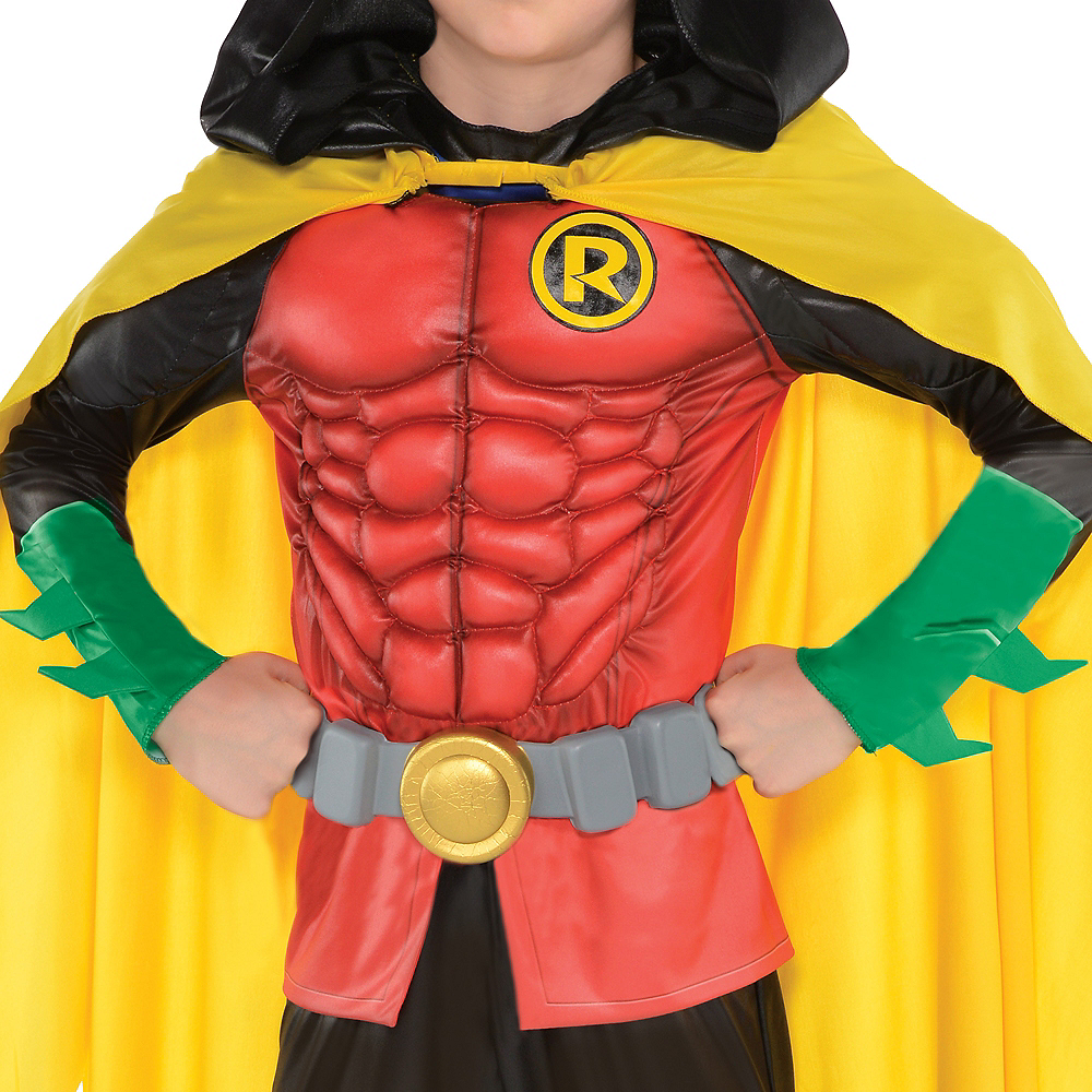 Boys Robin Muscle Costume - DC Comics New 52 Image #3