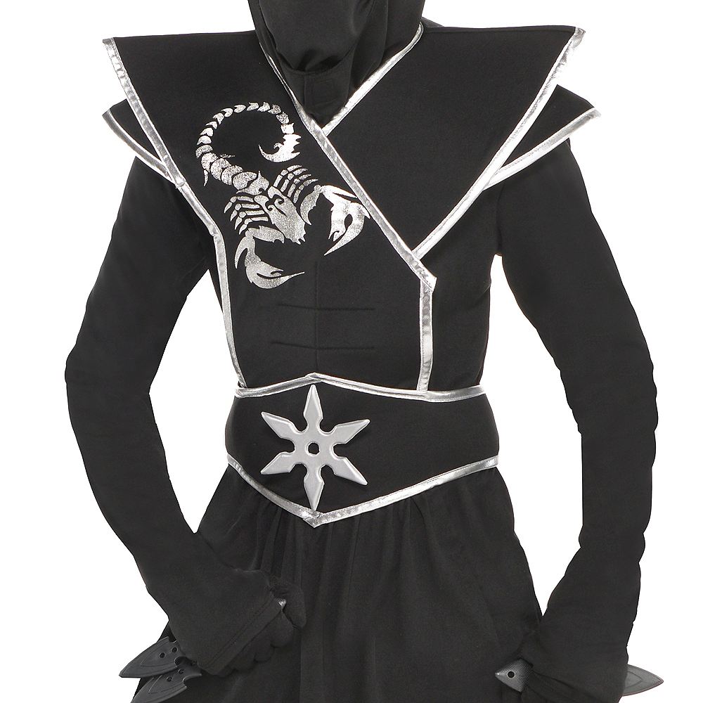 Boys Black Ops Ninja Costume Image #3
