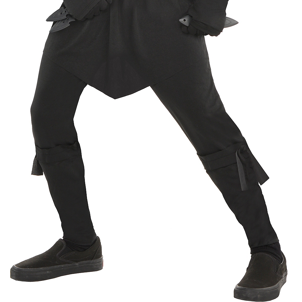 Boys Black Ops Ninja Costume Image #4