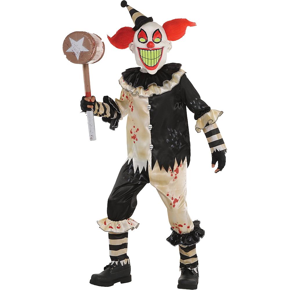 Dark Carnival Nightmare Clown Costume