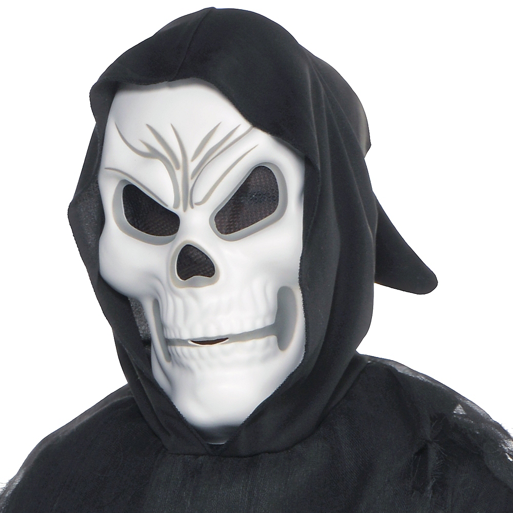 Boys Glow-in-the-Dark Chained Phantom Costume Image #2