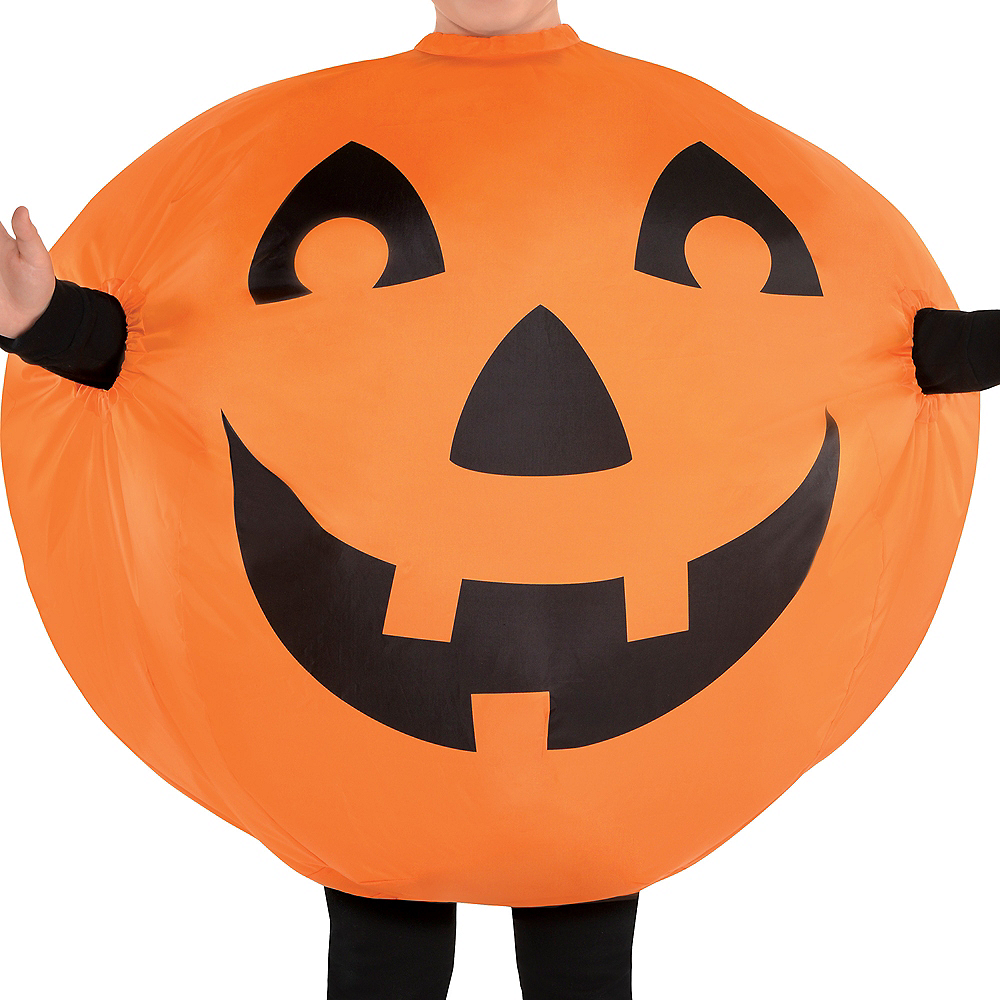 Nav Item For Child Inflatable Jack O Lantern Costume Image 2
