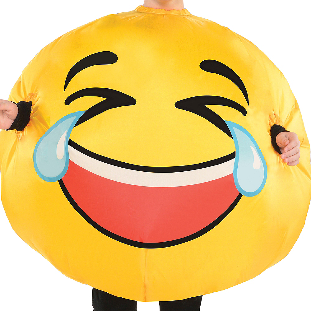 Child Inflatable Laughing Crying Smiley Costume Image #2