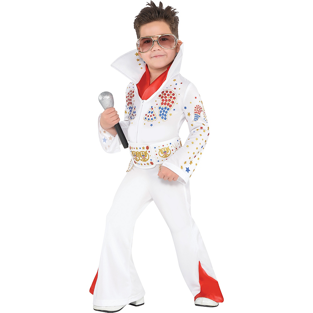 Toddler Boys King of Rock 'n' Roll Costume Image #1