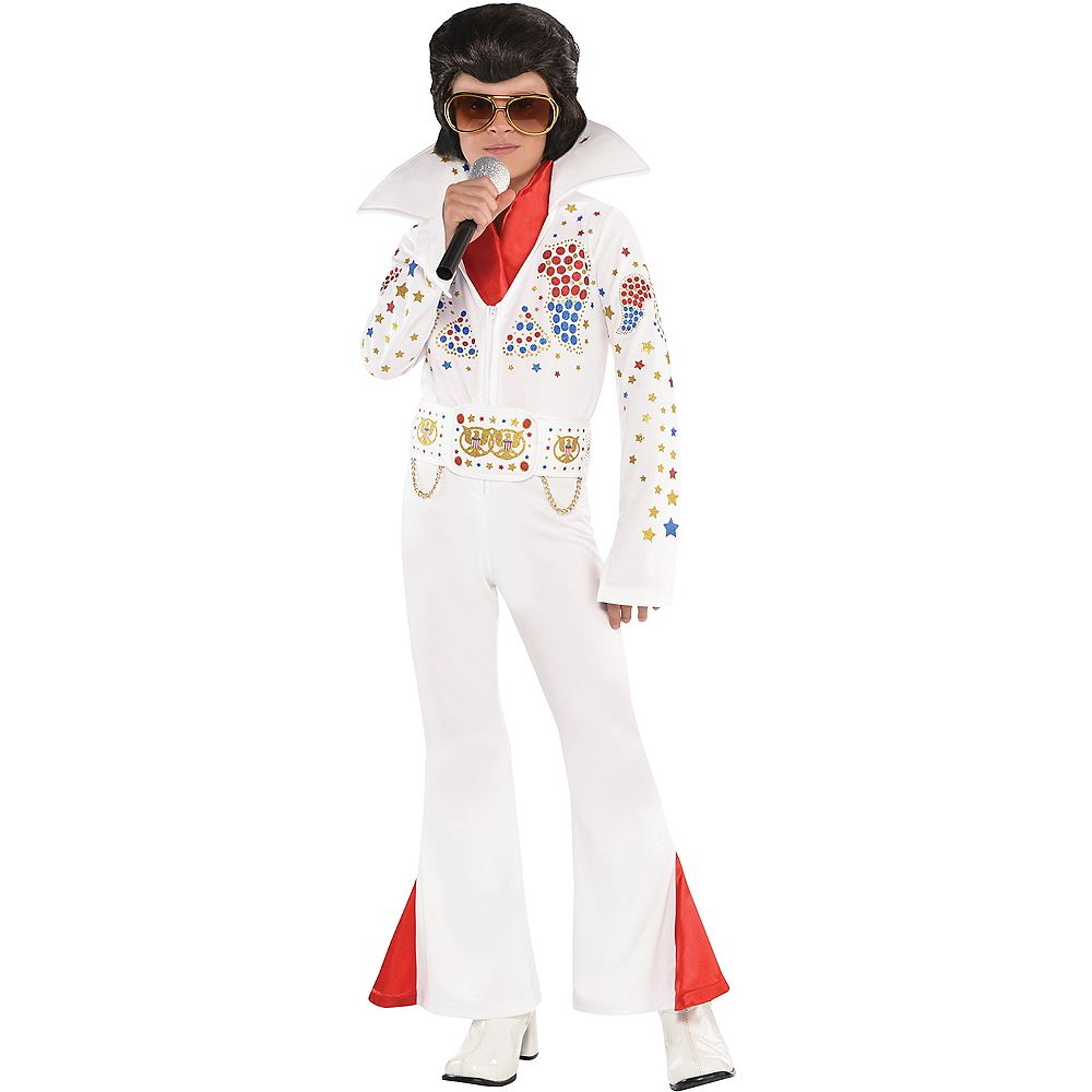Boys King of Rock 'n' Roll Costume Image #1