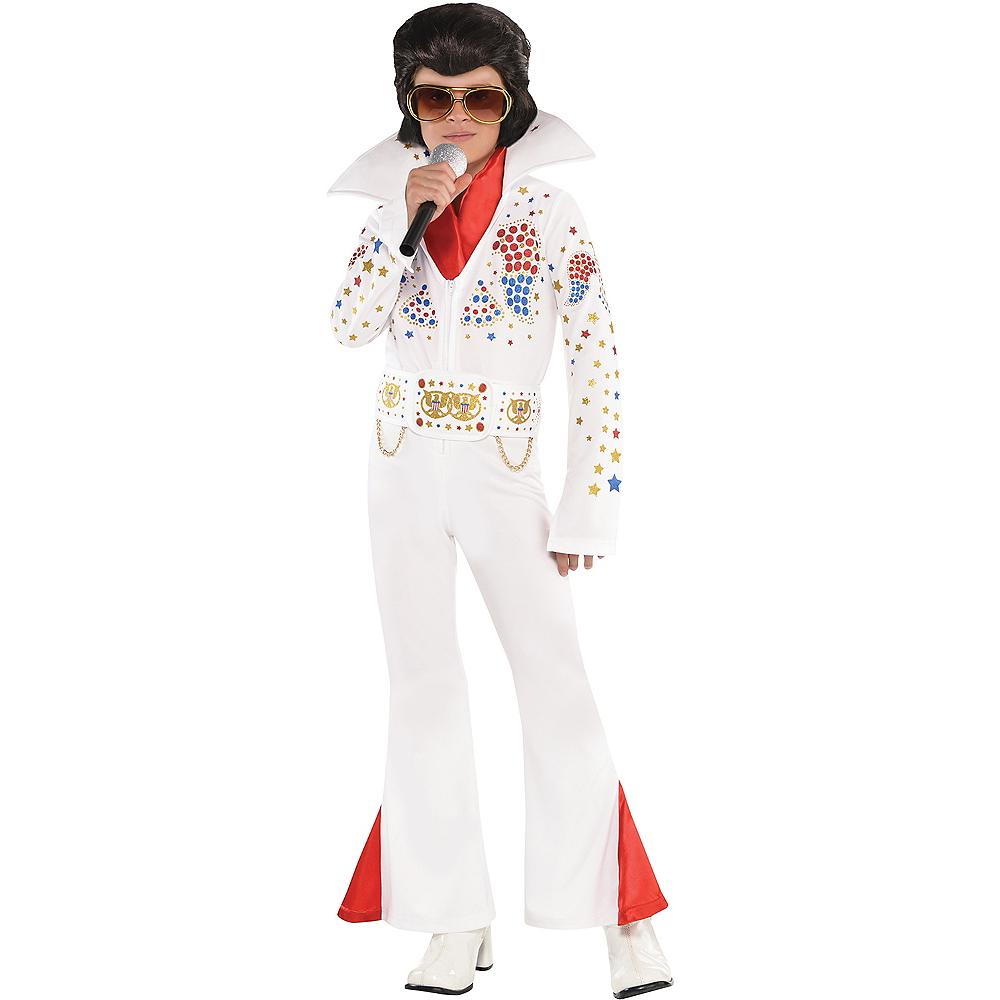 Boys King of Rock 'n' Roll Costume Image #1