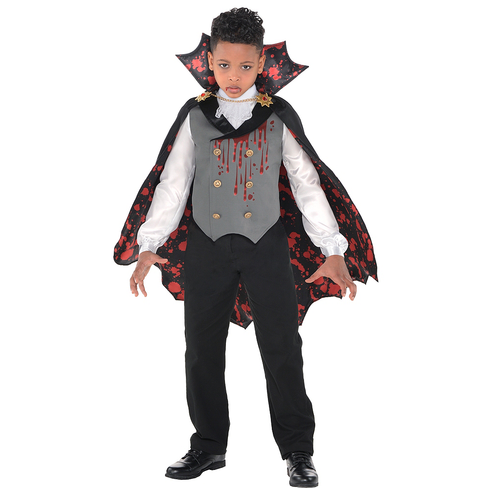 Boys Light-Up Bloody Vampire Costume Image #1