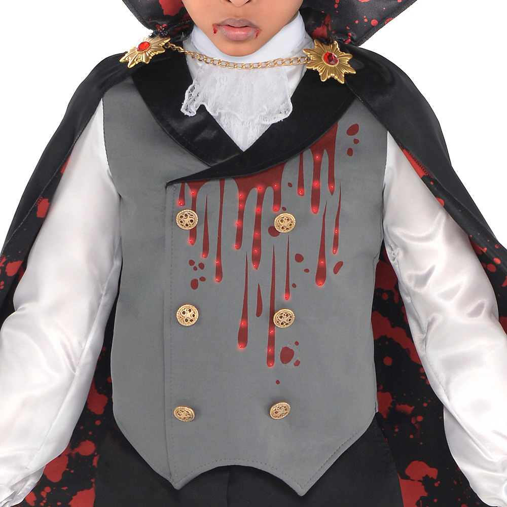 Boys Light-Up Bloody Vampire Costume Image #2