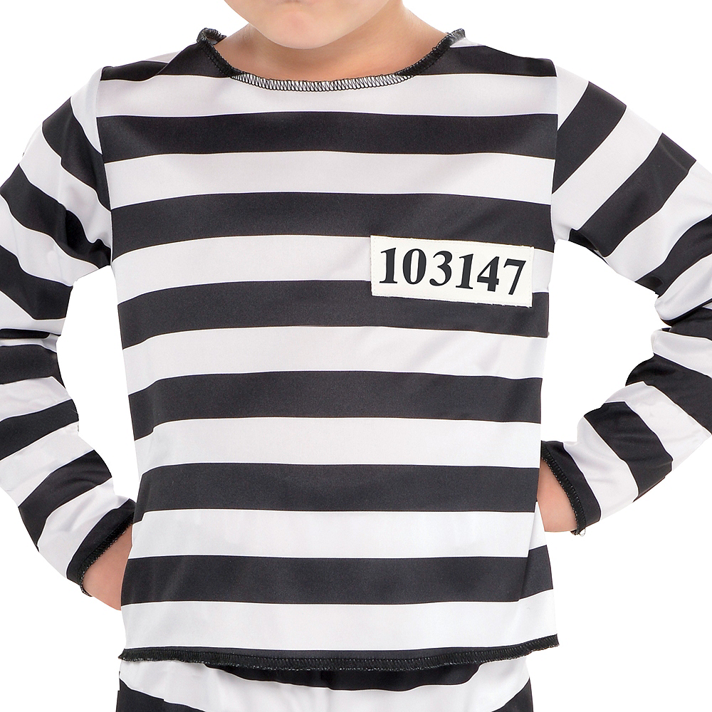 Toddler Boys Mischief Maker Prisoner Costume Image #3