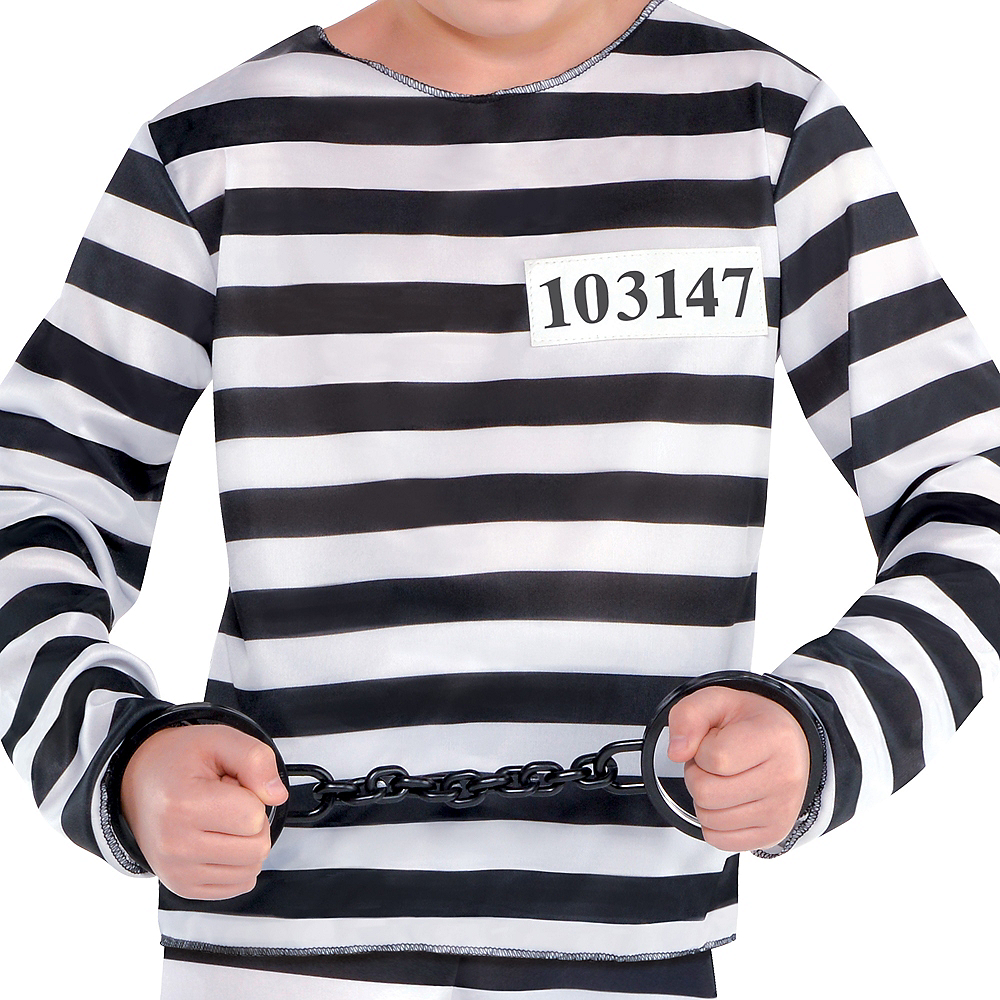 Boys Mischief Maker Prisoner Costume Image #3