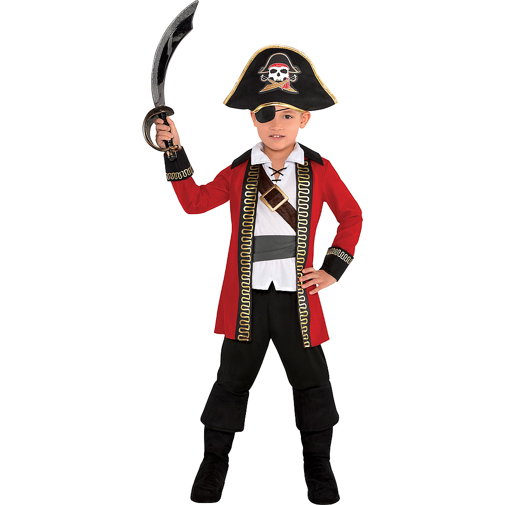 Boys Pirate Captain Costume Image #1