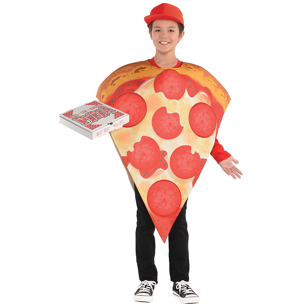 Child Pizza Costume Image #1