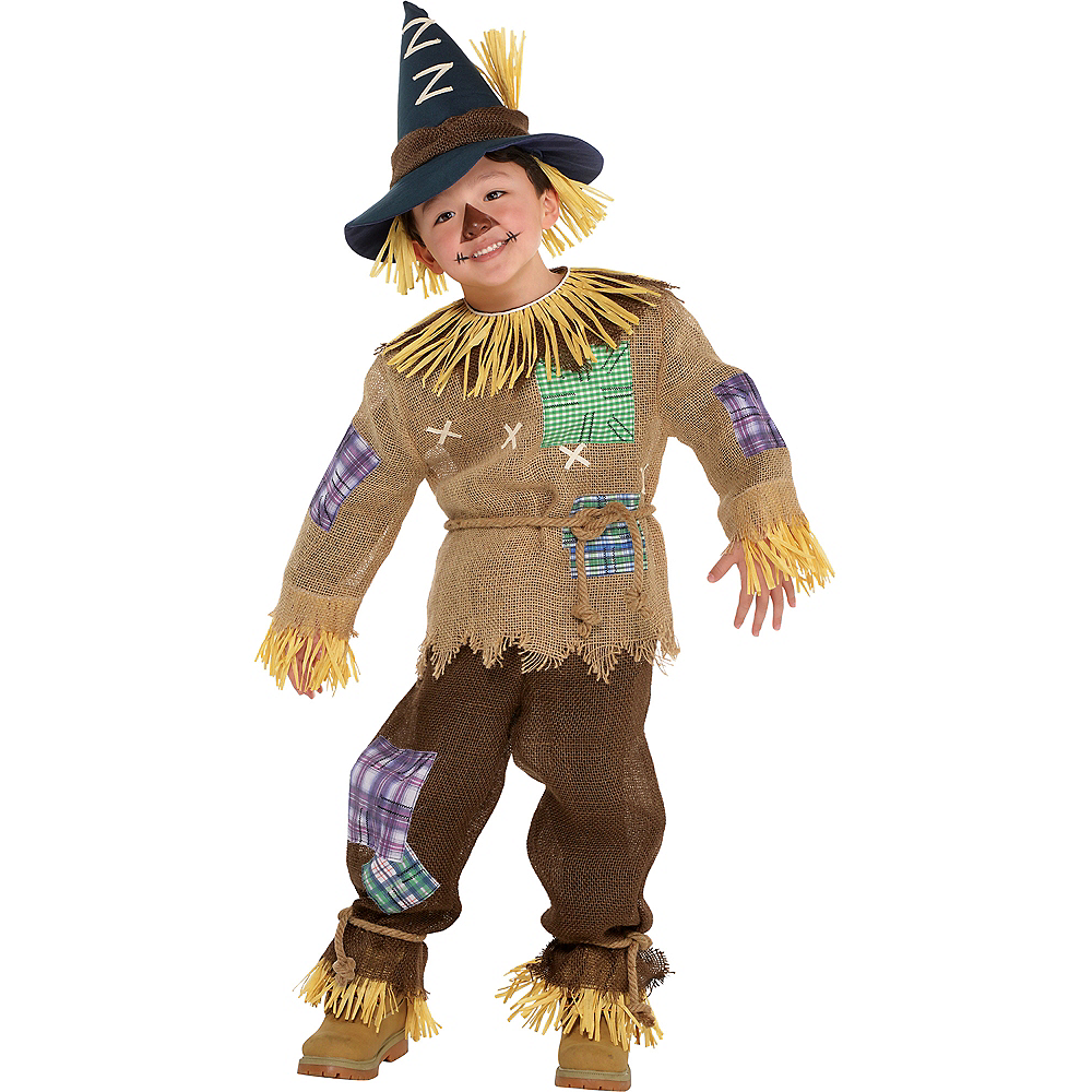 toddler boys friendly scarecrow costume party city