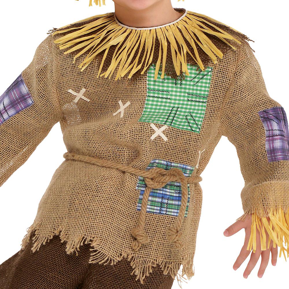 Toddler Boys Friendly Scarecrow Costume Image #3