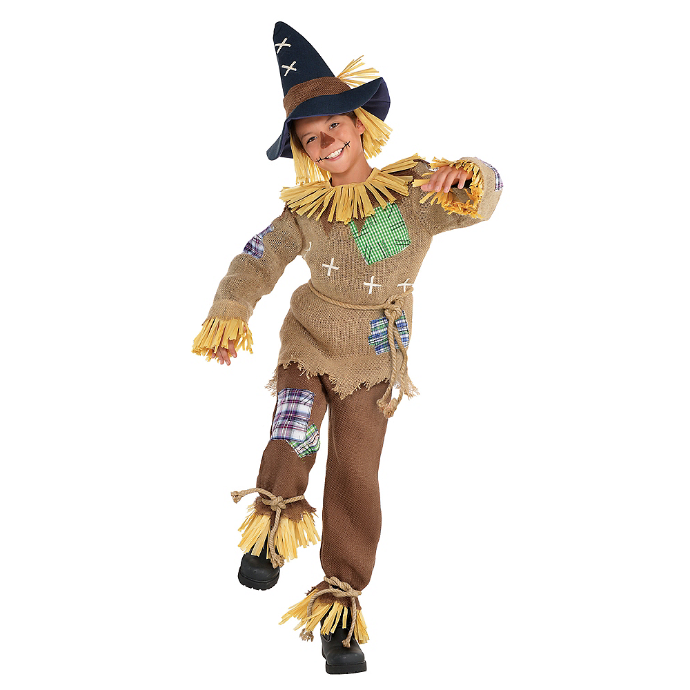 Nav Item for Boys Friendly Scarecrow Costume Image #1