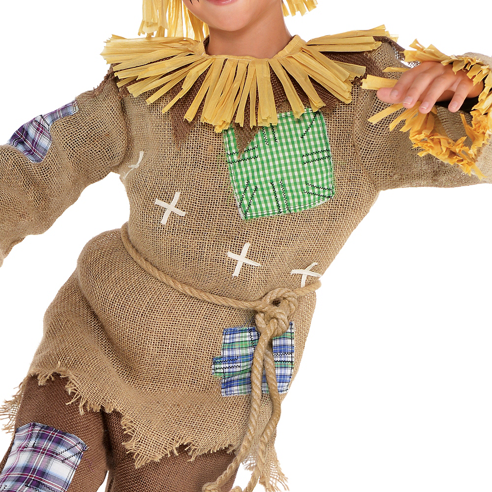 Nav Item for Boys Friendly Scarecrow Costume Image #3
