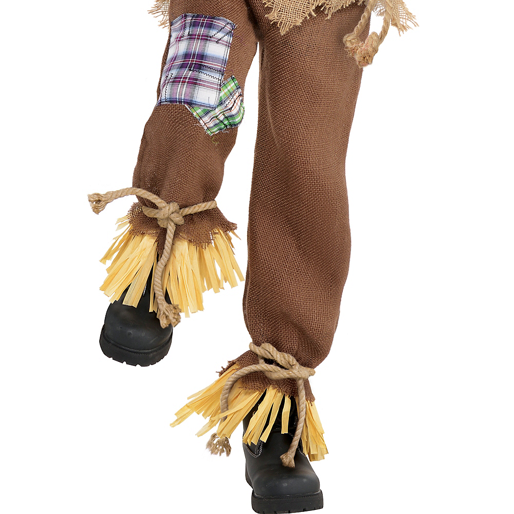 Nav Item for Boys Friendly Scarecrow Costume Image #4