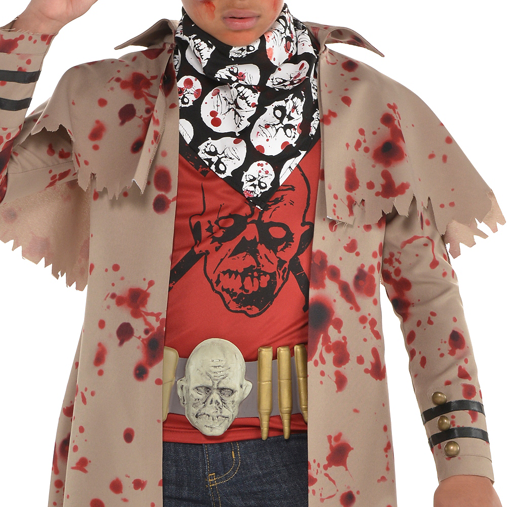 Boys Zombie Slayer Costume Image #3