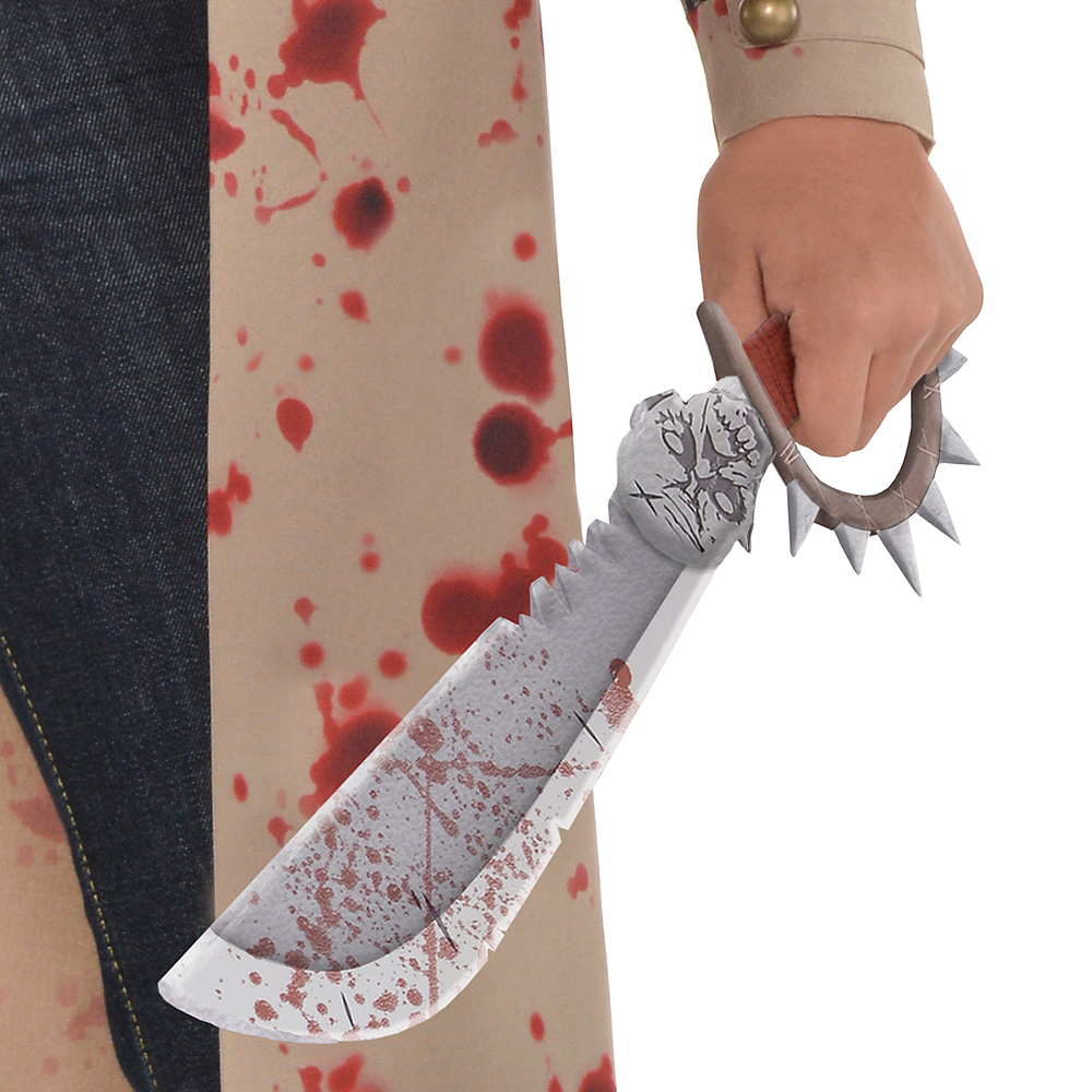 Nav Item for Boys Zombie Slayer Costume Image #4