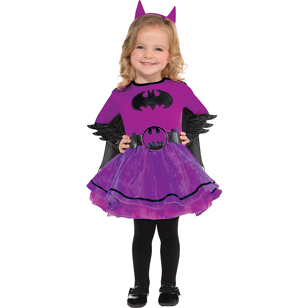 Nav Item for Baby Purple Batgirl Costume - Batman Image #1