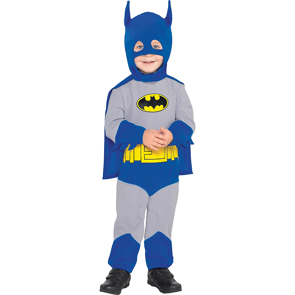 Baby Classic Batman Costume - The Brave & the Bold Image #1