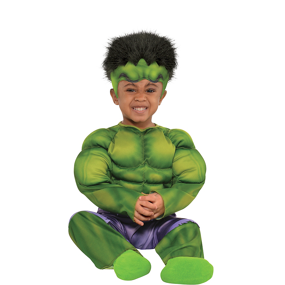 Nav Item for Baby Hulk Muscle Costume Image #1