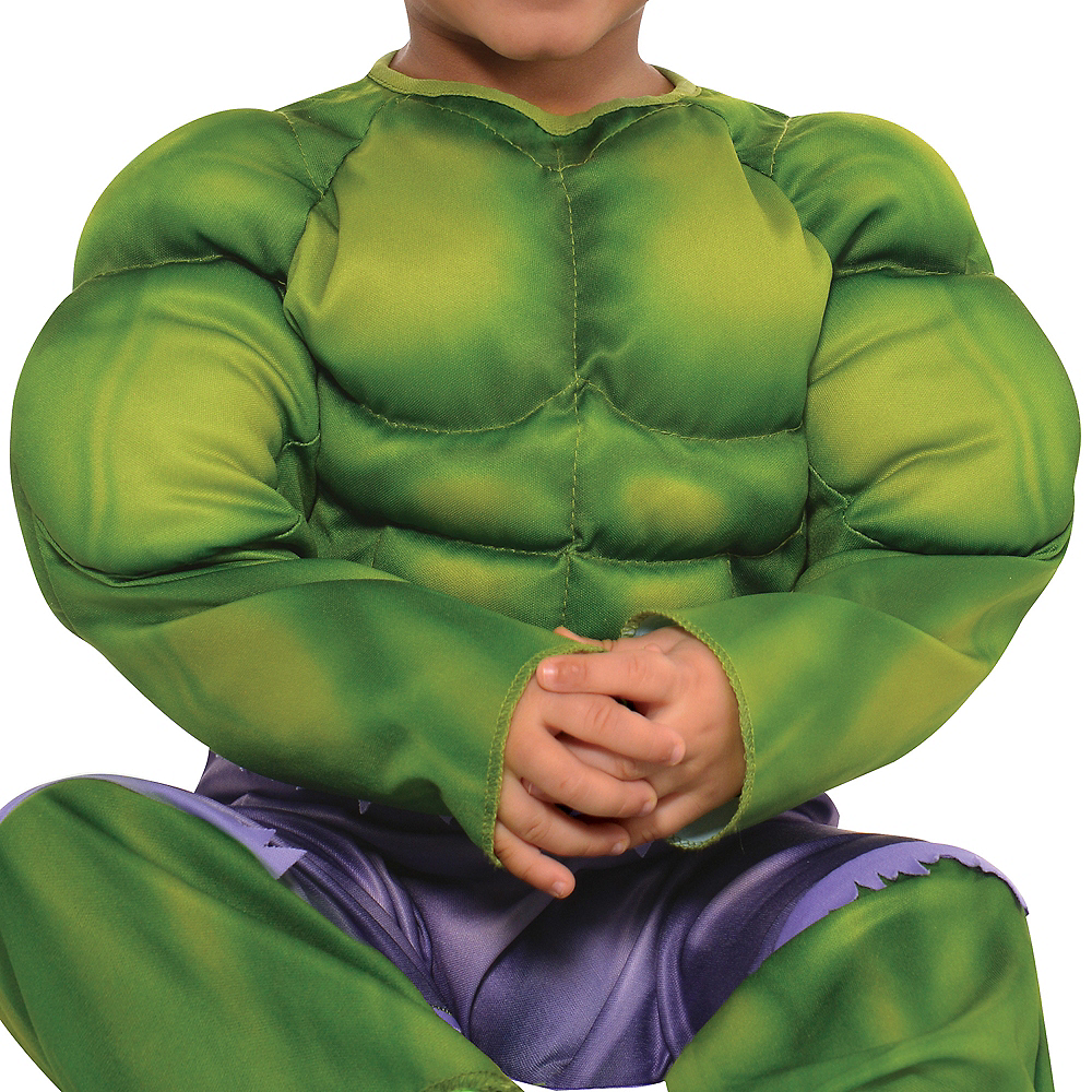 Nav Item for Baby Hulk Muscle Costume Image #3