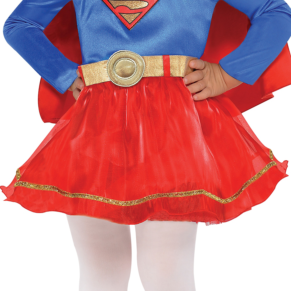 Nav Item for Baby Classic Supergirl Costume - Superman Image #4