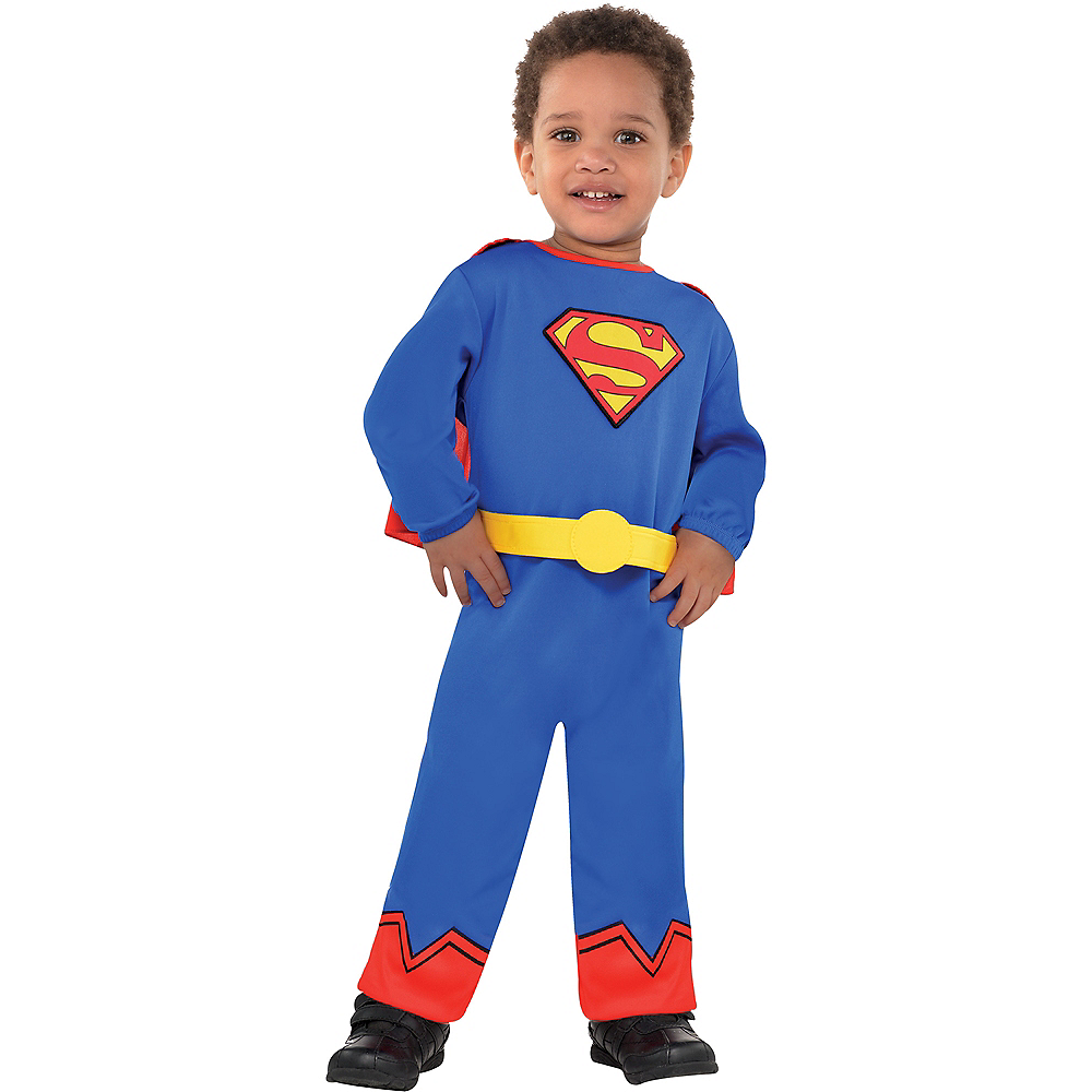Baby Classic Superman Costume Image #1