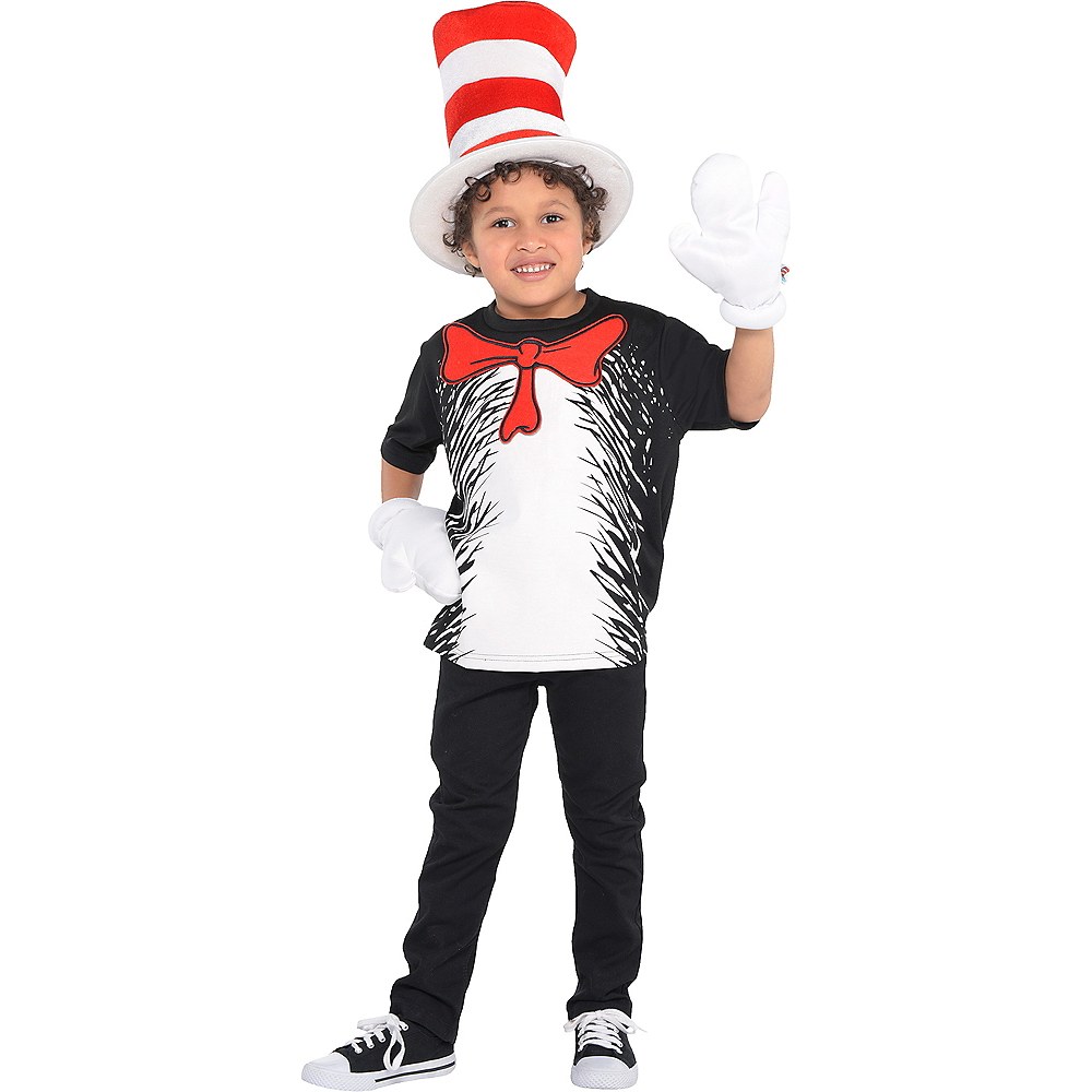 709f356e438 Boys Cat in the Hat Costume - Dr. Seuss