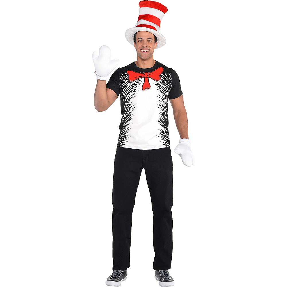 Adult Cat in the Hat Costume - Dr. Seuss Image #1