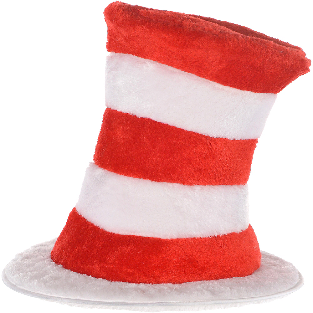 Adult Cat in the Hat Costume - Dr. Seuss Image #3