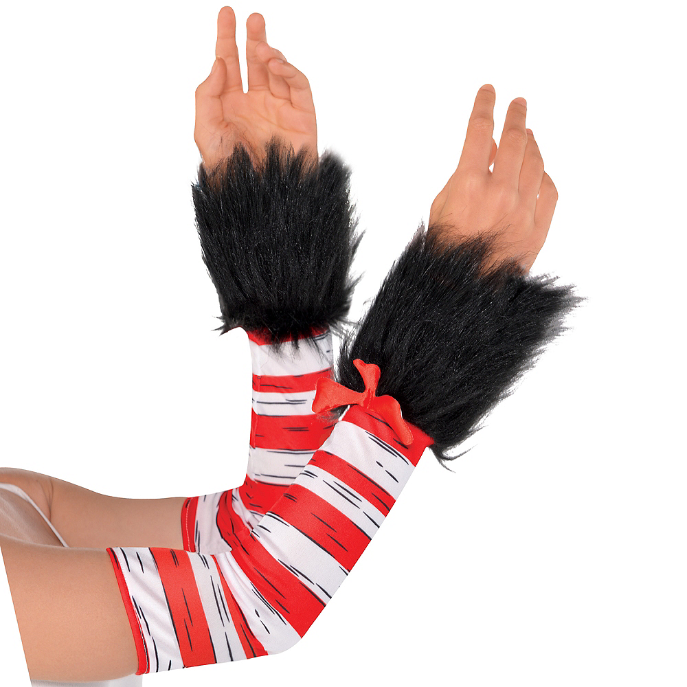 Adult Cat in the Hat Dress Costume - Dr. Seuss Image #3