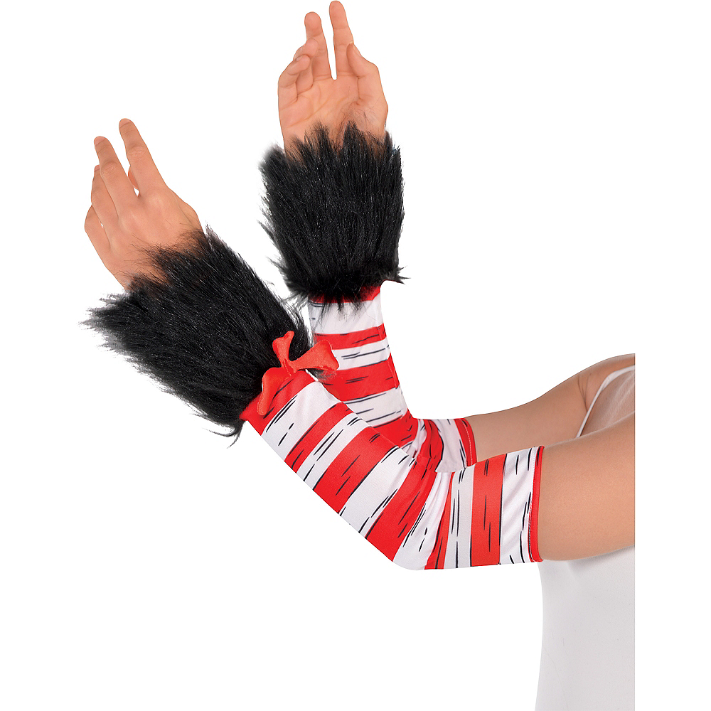 Adult Cat in the Hat Long-Sleeve Costume - Dr. Seuss Image #4