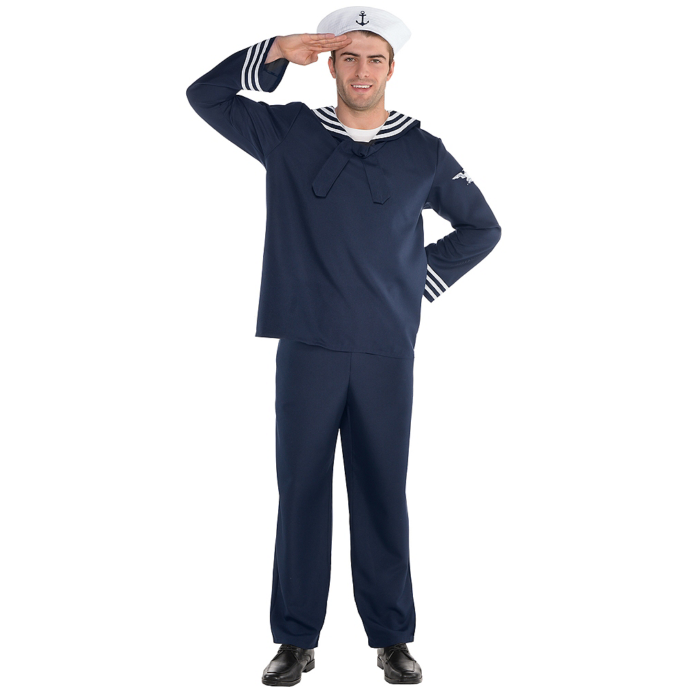 Adult Out to Sea Sailor Costume Image #1