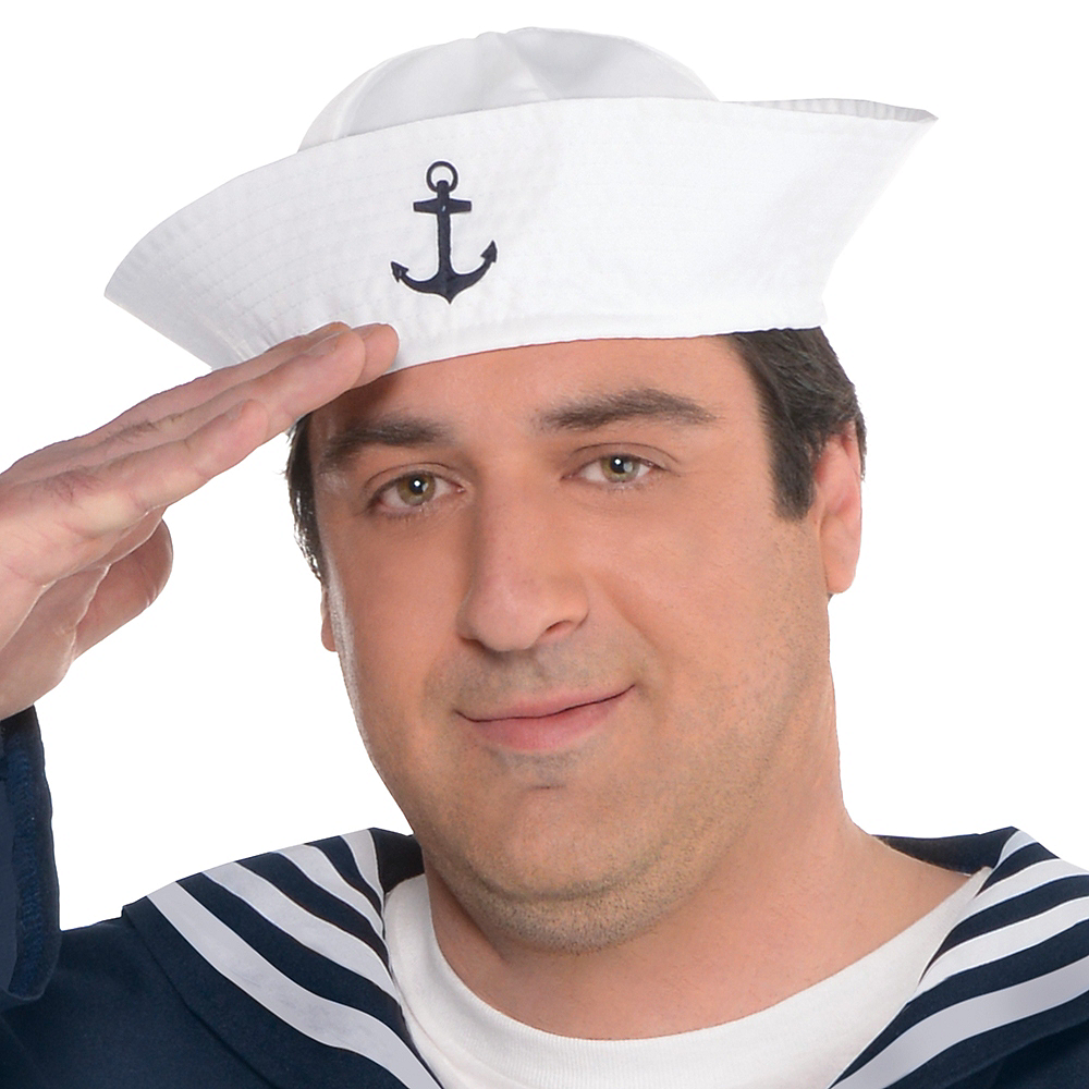 Adult Out to Sea Sailor Costume Plus Size Image #2