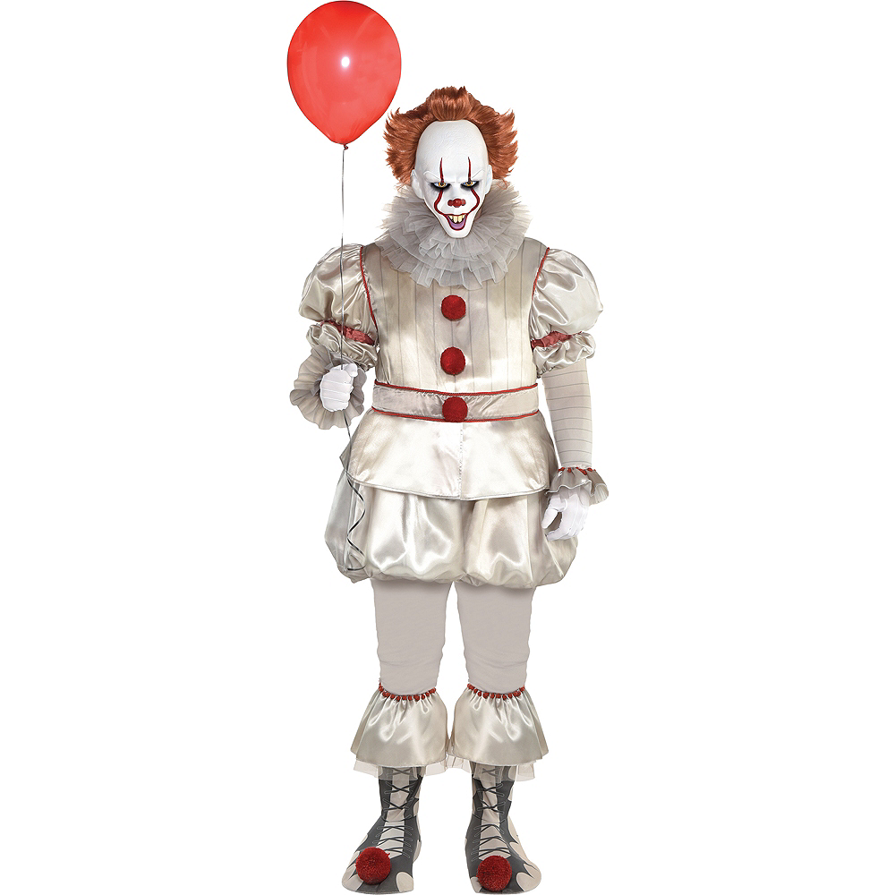 b2180283263 Mens Pennywise Costume Plus Size - IT