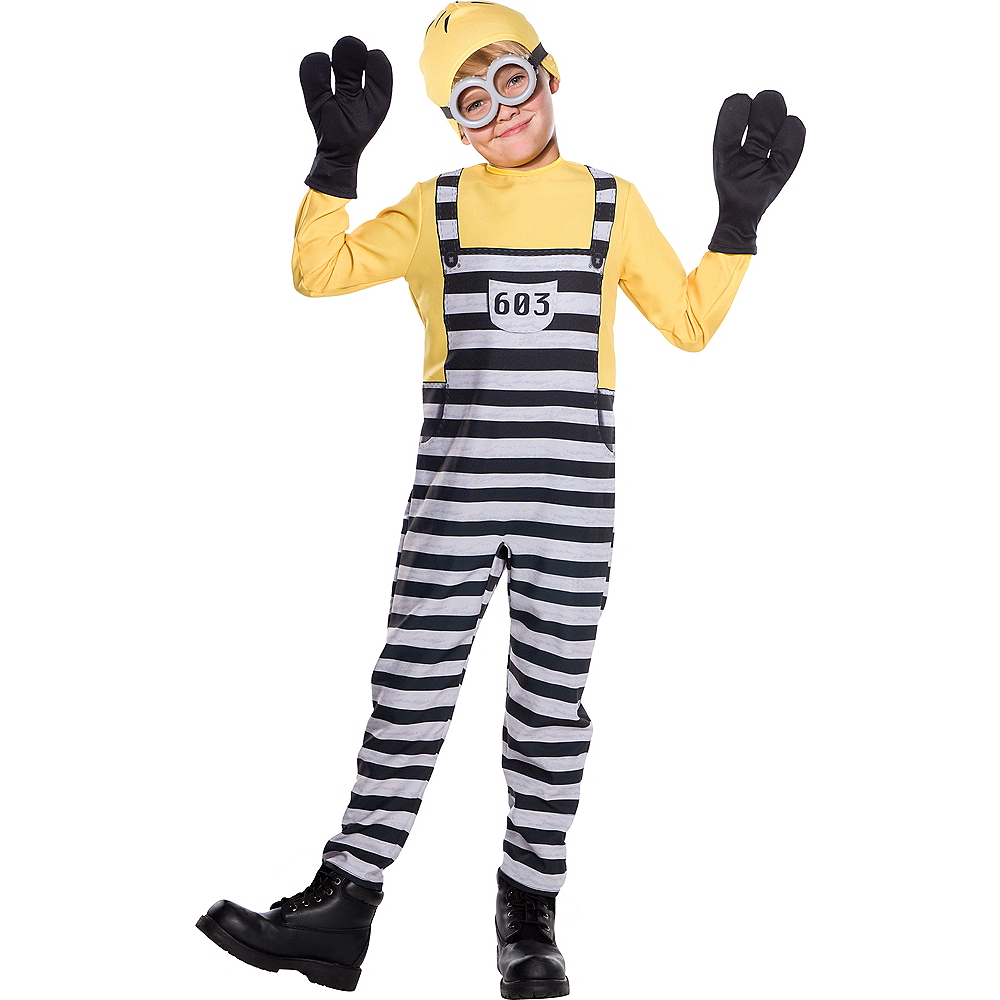 Boys Jail Tom Costume - Despicable Me 3 Image #1