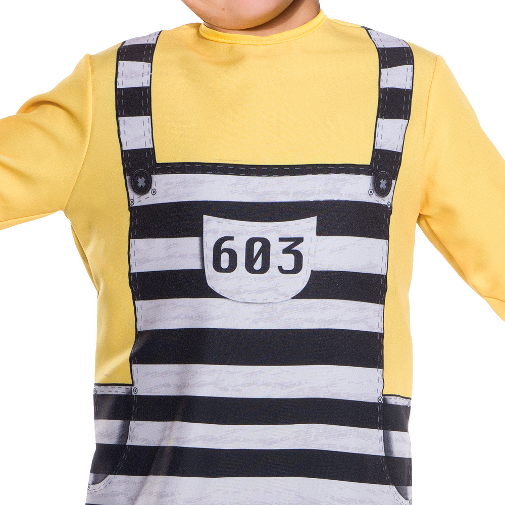 Boys Jail Tom Costume - Despicable Me 3 Image #3