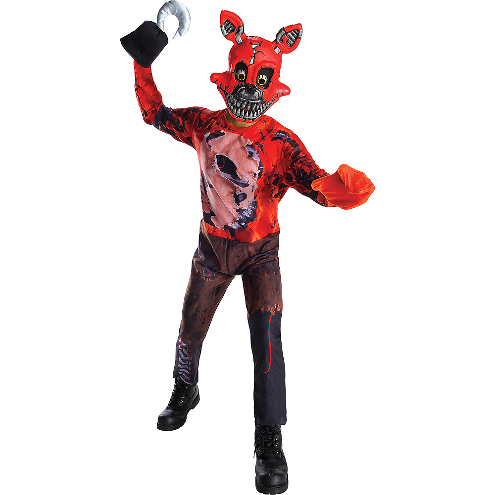 boys nightmare foxy costume five nights at freddys 4