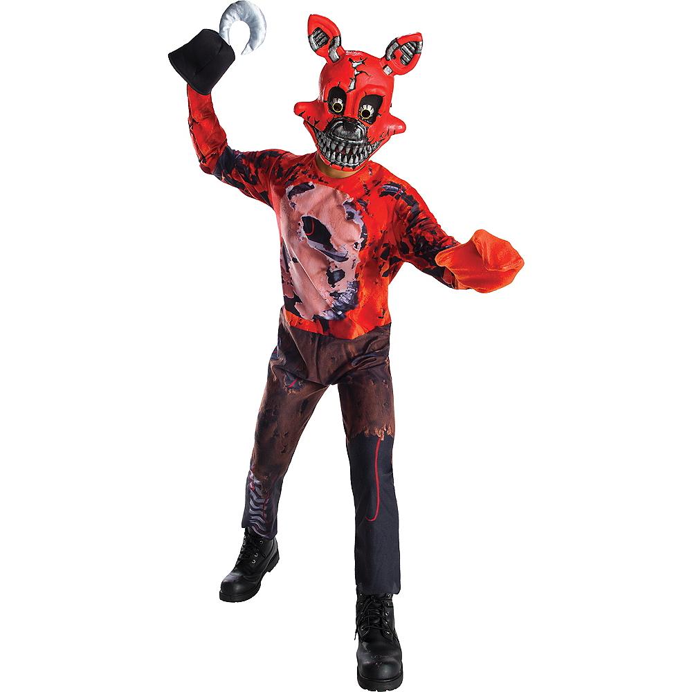 Boys Nightmare Foxy Costume - Five Nights at Freddy's 4 Image #1