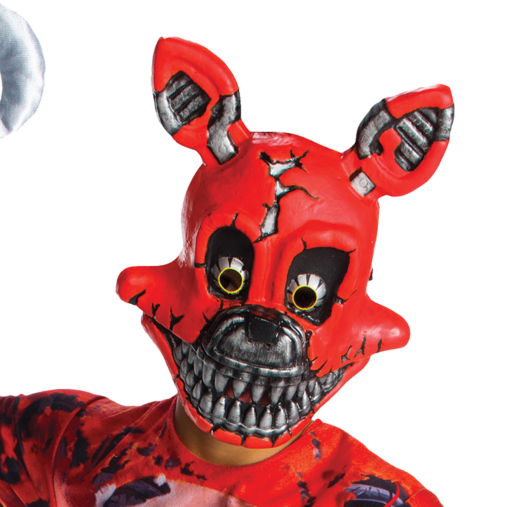 Boys Nightmare Foxy Costume Five Nights At Freddys 4 Party City