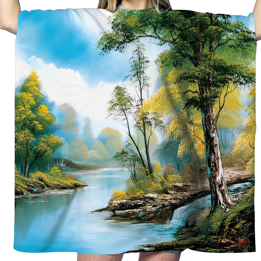 Adult Bob Ross Painting Costume Image #2