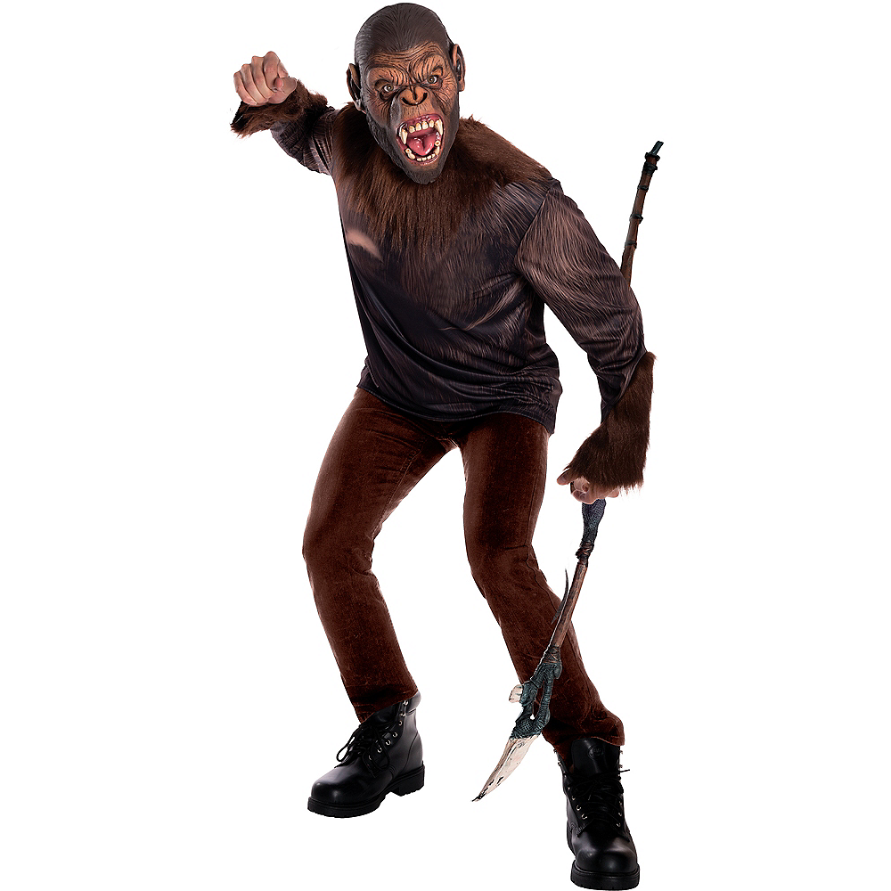 Nav Item for Adult Caesar Costume - War for the Planet of the Apes Image #1
