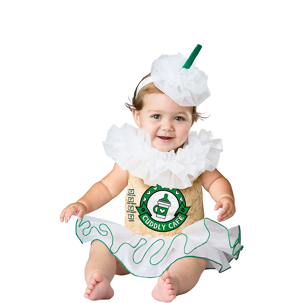 Nav Item for Baby Cappuccino Cutie Coffee Costume Image #1