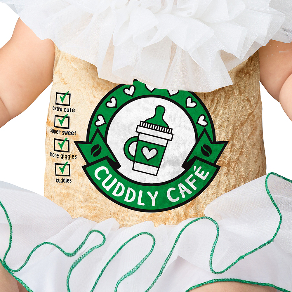 Nav Item for Baby Cappuccino Cutie Coffee Costume Image #3